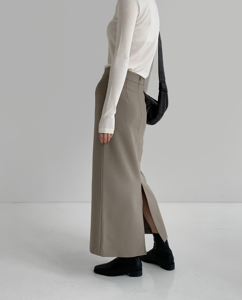 코트 모델 착용 이미지-S1L3