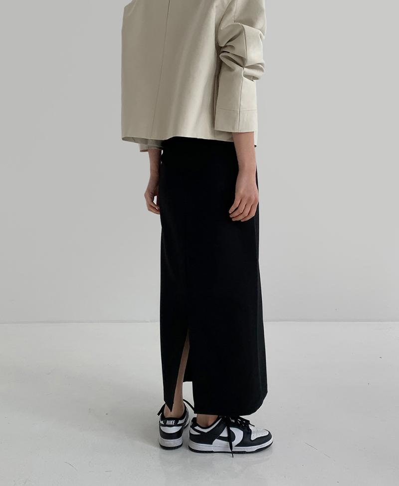 코트 모델 착용 이미지-S1L33