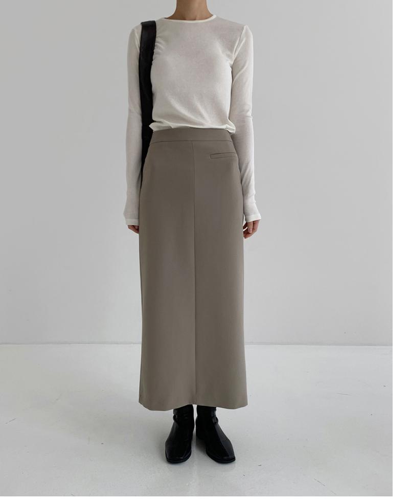 코트 모델 착용 이미지-S1L8